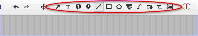 Инструменты редактора