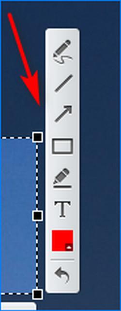 Используем инстурменты для графического редактирования в Lightshot