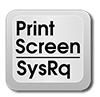 Кнопка скриншота PrintScreen