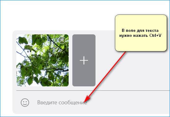 Отправляем изображение другому пользователю через Lightshot