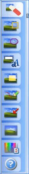 Панель инструментов в Magic Snap Ashampoo Snap