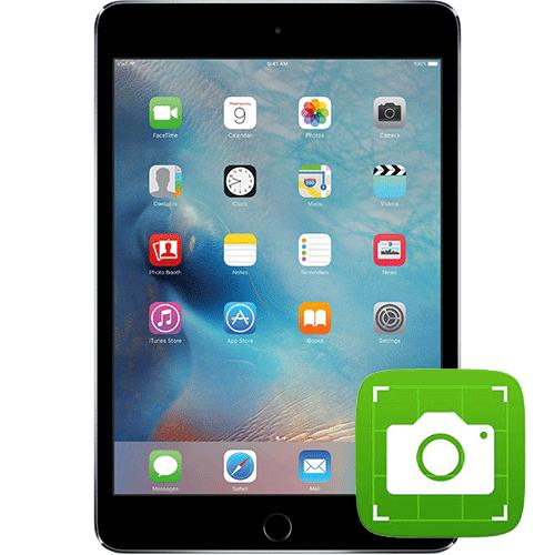 Сделать скриншот на iPad