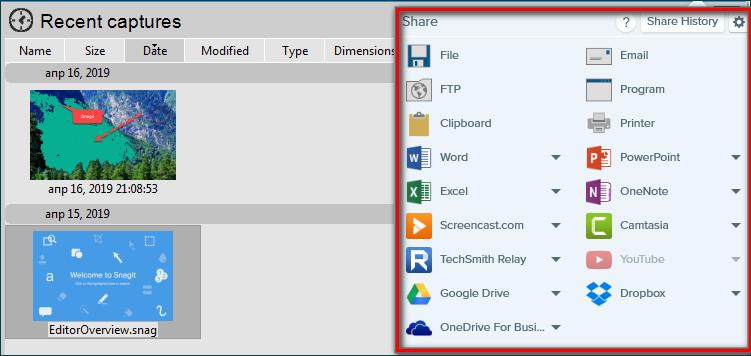 Сохранение готового скриншота