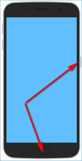 Создание фото экрана на Андроид
