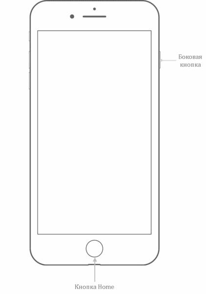 Создание скриншота на телефоне