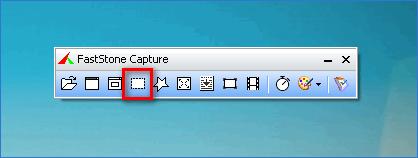 Захват области Chrome в FastStone Capture